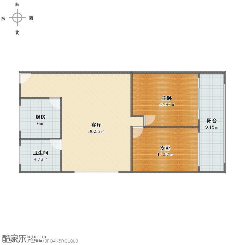 唐城公寓户型图