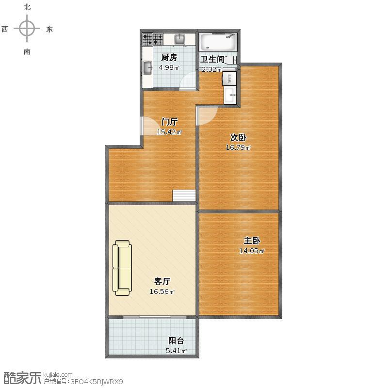 丽华公寓户型图01