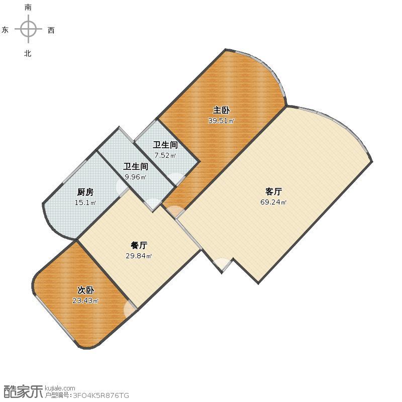 绿洲仕格维花园公寓户型图