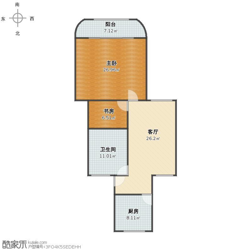 虹城公寓户型图