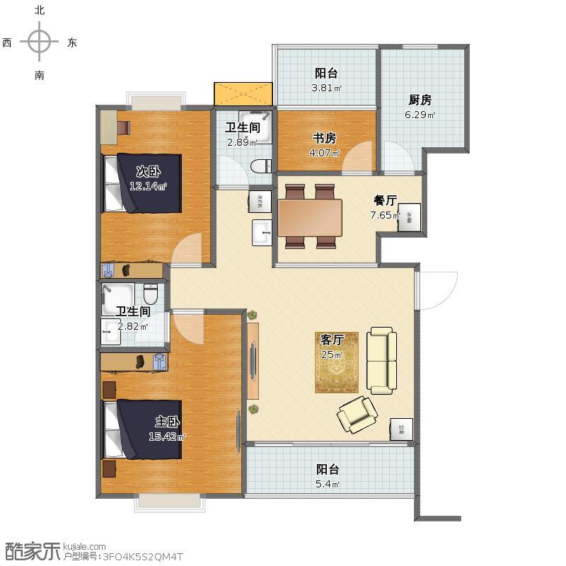 家具布置_丹阳和庭