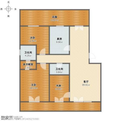 西门外大街16号院3室1厅1卫2厨146.00㎡户型图