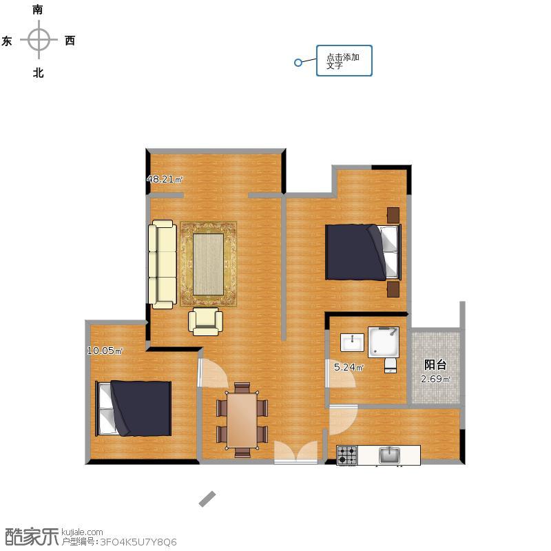 复制的方案(2)_国茂新家园2户型图