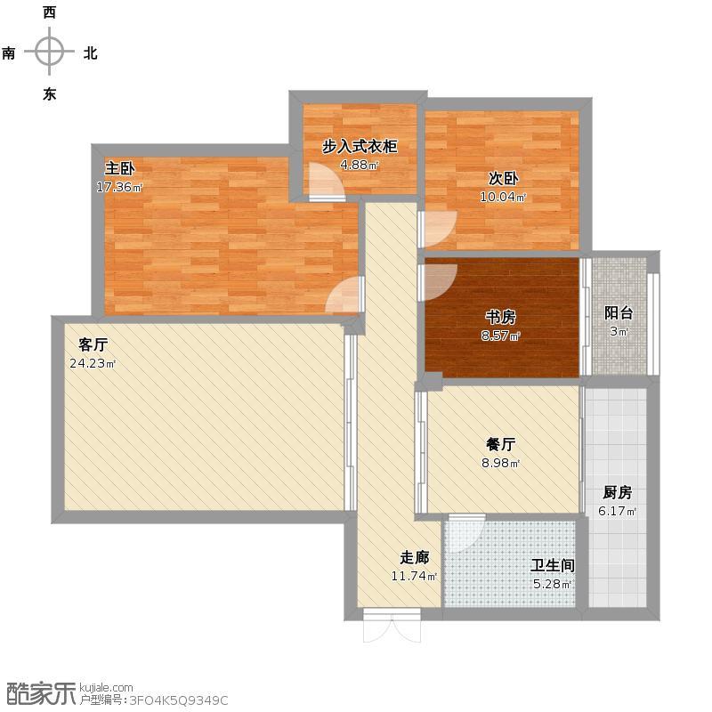 尚格名城 7期 5栋 7户型