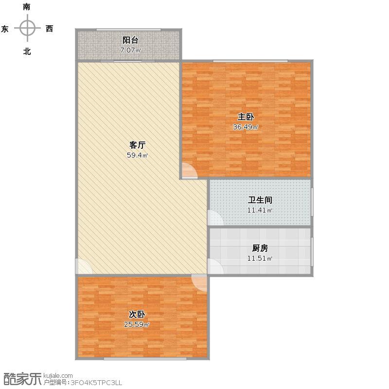 金江家园户型图