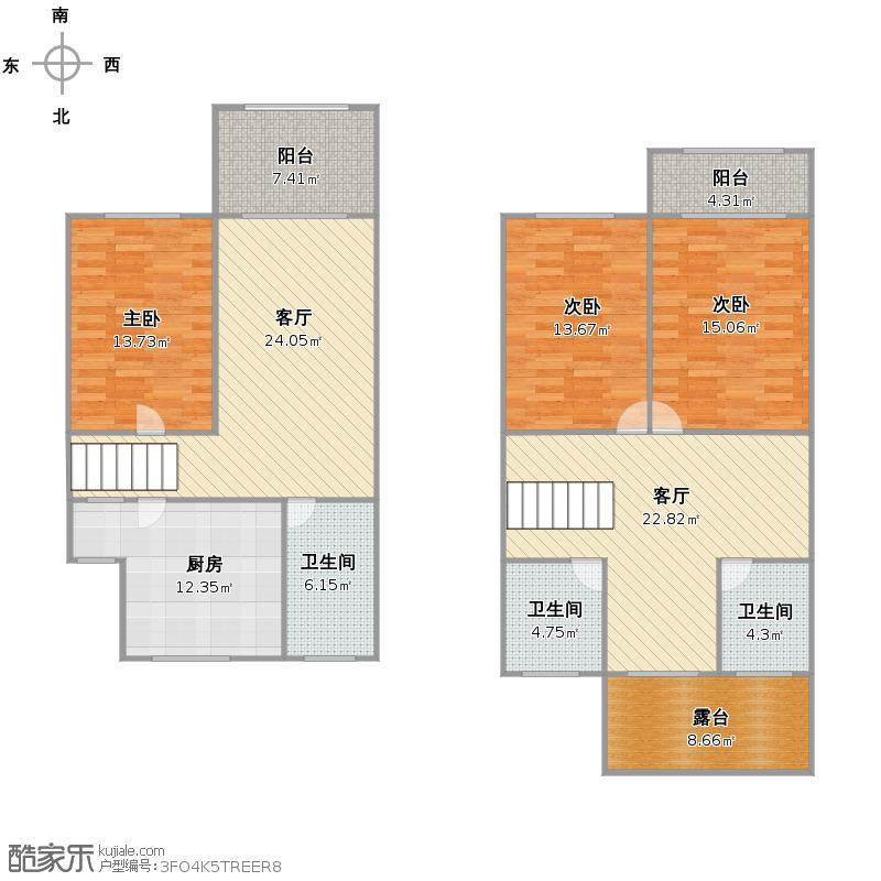 东旺公寓户型图