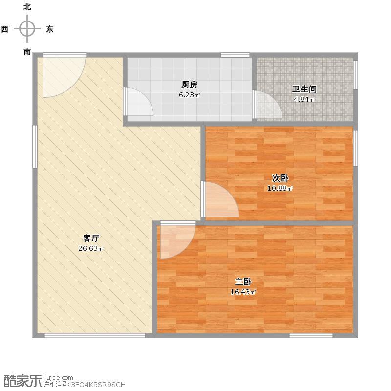 山水文园上海老式二居