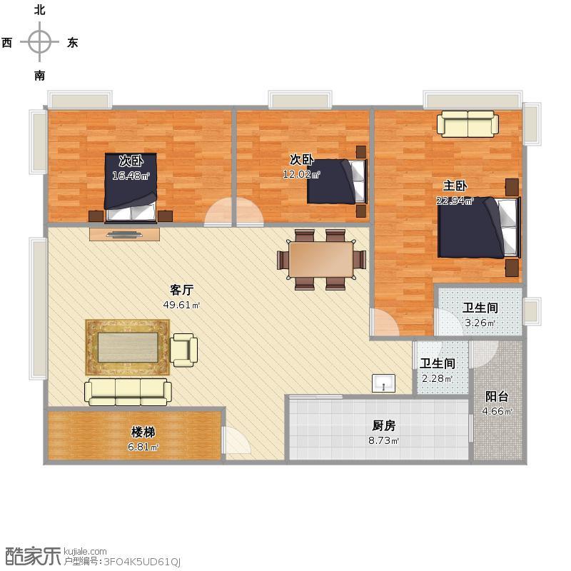 杨柳溪2户型图