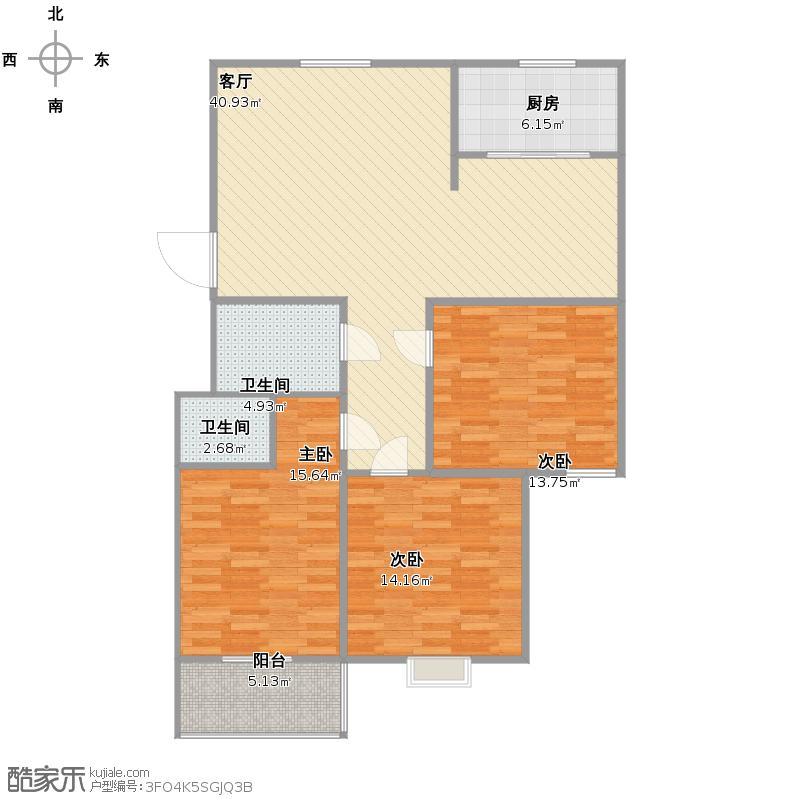 恒富3居室