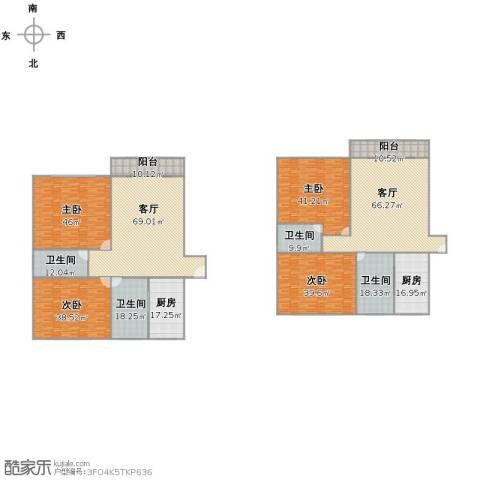 华高苑4室2厅2卫4厨433.00㎡户型图
