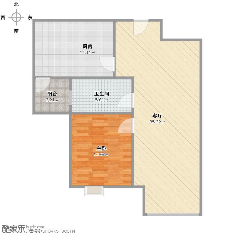一房改造成两房