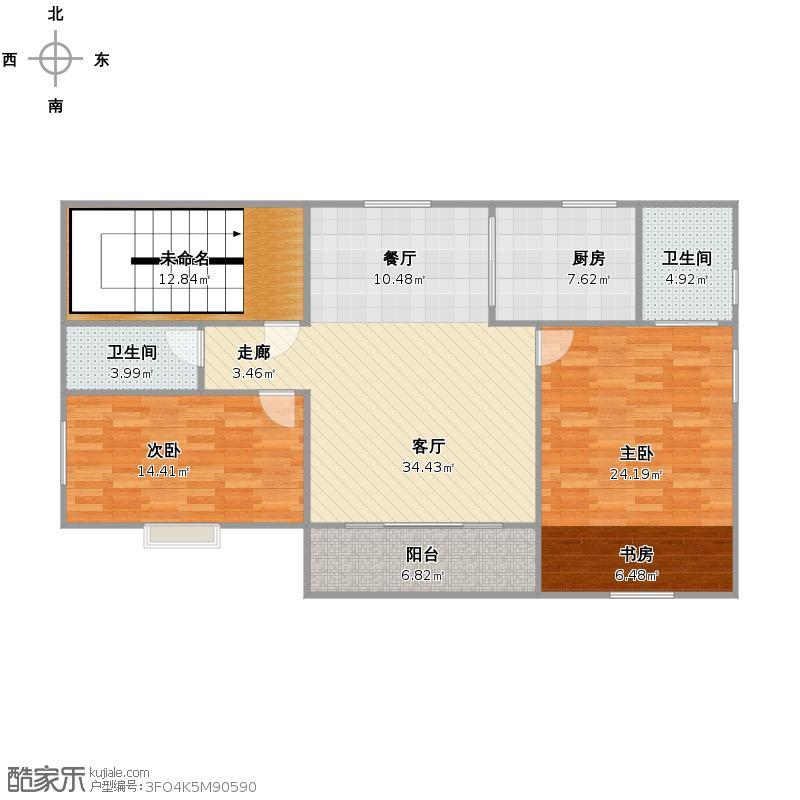 2、3楼设计图