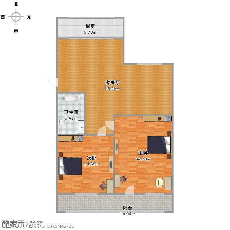 建设路单位宿舍户型图
