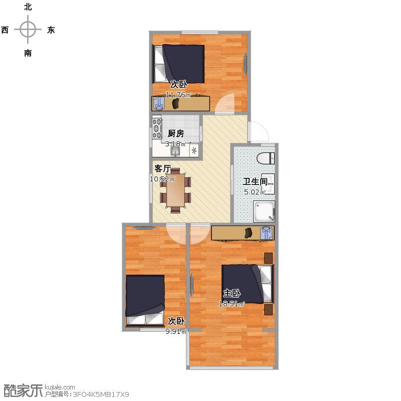 梅六小区  梅川路916弄46号603室户型图