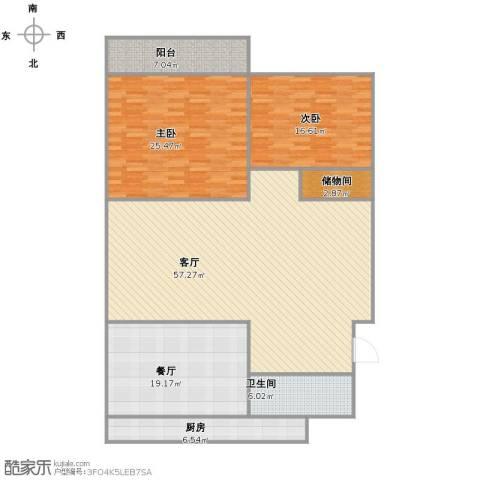 友谊苑2室2厅1卫1厨149.00㎡户型图