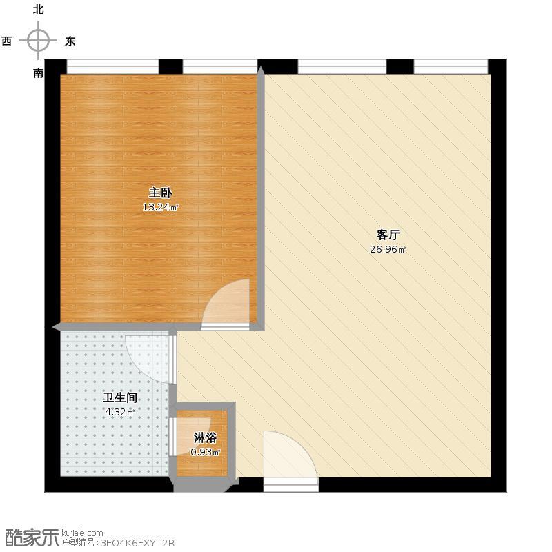 方正360空间68.00㎡12#户型10室