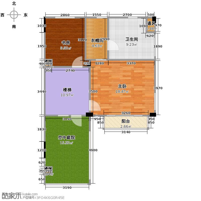和家园250.00㎡排屋1+3边套户型10室