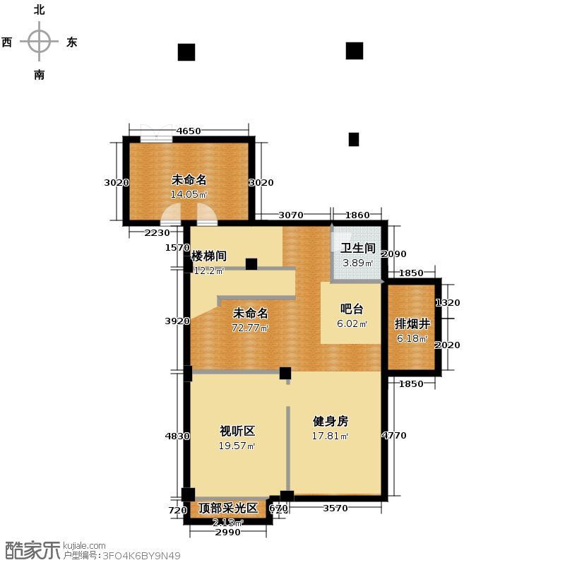 西溪山庄257.00㎡2号楼北入口东边套户型10室