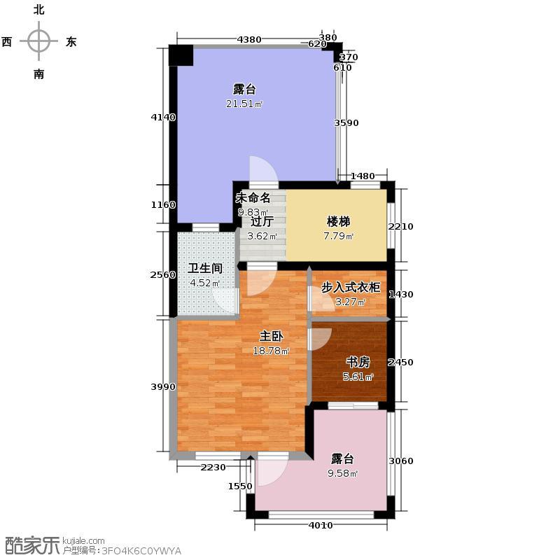 经纬美耀湾207.00㎡B三层户型10室
