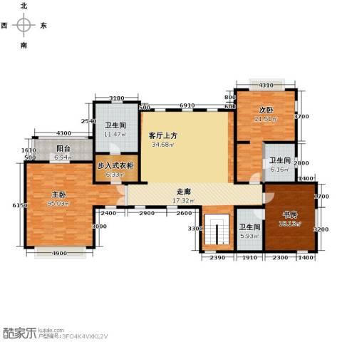 汀香别墅二期3室0厅3卫0厨396.00㎡户型图
