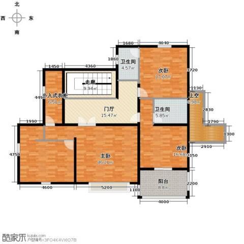 汀香别墅二期3室0厅2卫0厨405.00㎡户型图