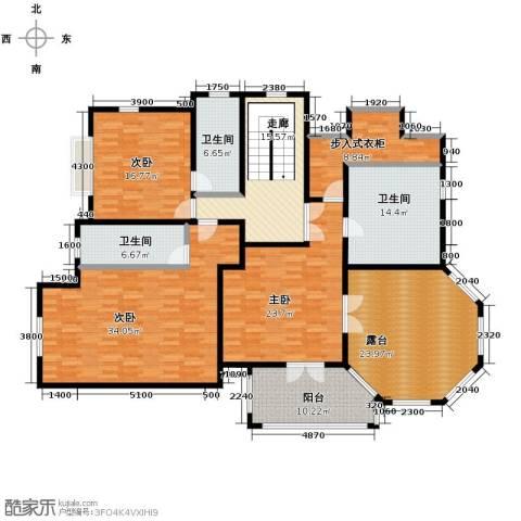 汀香别墅二期3室0厅3卫0厨430.00㎡户型图