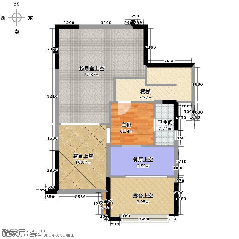 新山水御园116.00㎡B户型3室2厅3卫