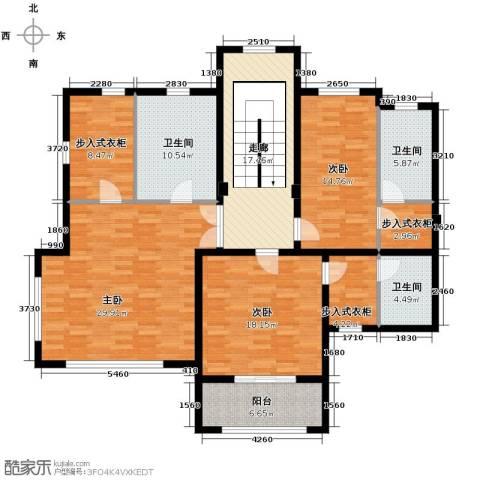 汀香别墅二期3室0厅3卫0厨408.00㎡户型图