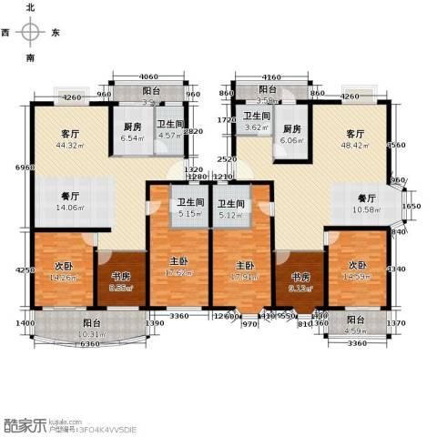 宋都梅苑人家6室2厅4卫2厨228.23㎡户型图