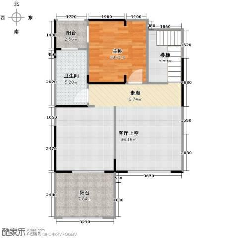 保利东湾1室0厅1卫0厨115.00㎡户型图