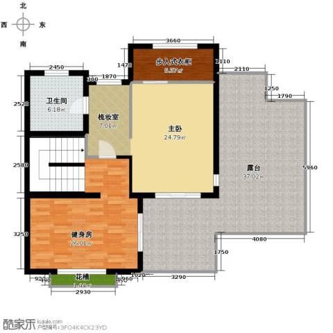 水木清华别墅1室0厅1卫0厨332.00㎡户型图