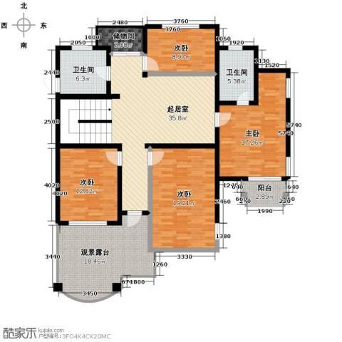 水木清华别墅4室0厅2卫0厨332.00㎡户型图