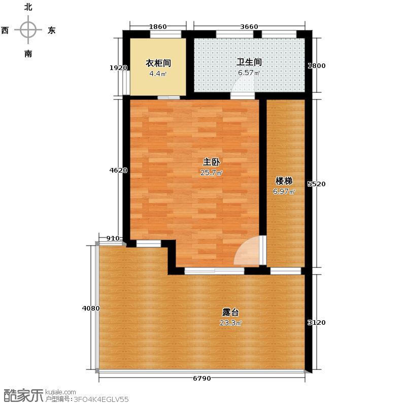 上林湖262.22㎡N2_5排屋三层户型1室1卫