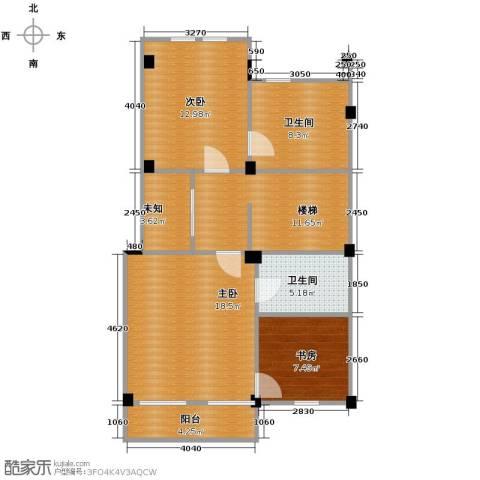 恒远锦绣兰庭3室0厅2卫0厨76.00㎡户型图