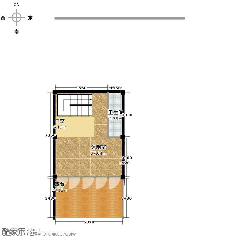 莫干山观云庄园474.00㎡F1三层户型10室