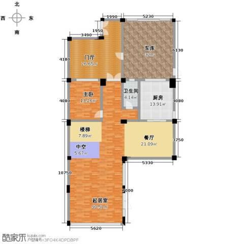 莫干山观云庄园1室0厅1卫1厨474.00㎡户型图