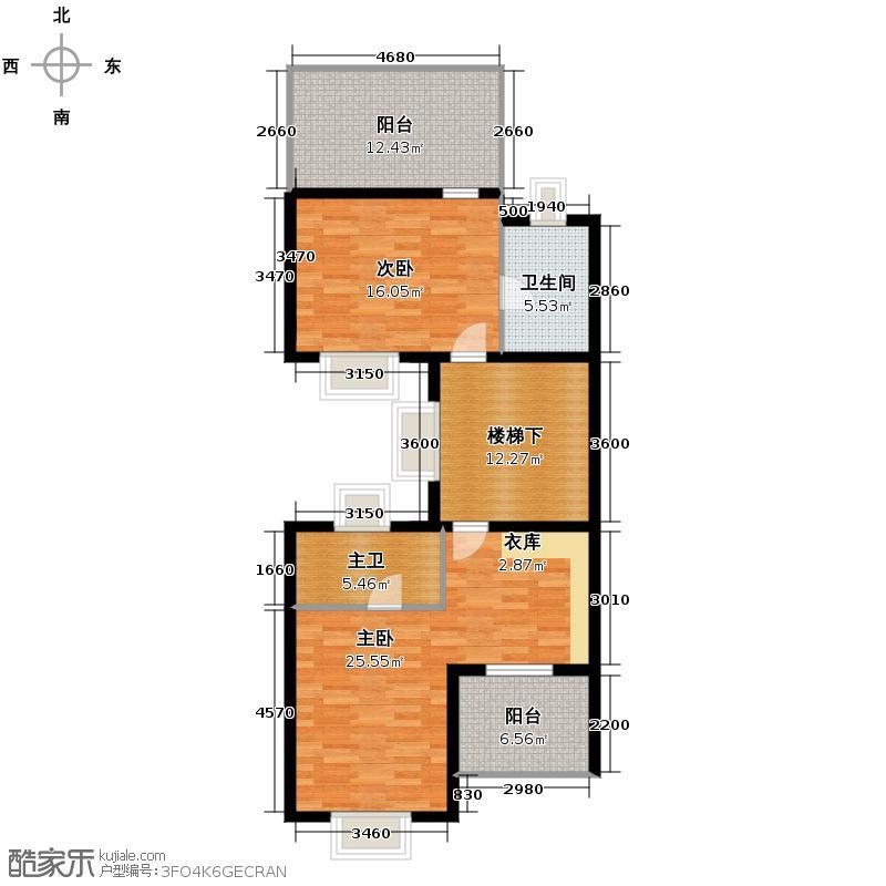 大华西溪风情285.00㎡E西边套户型10室