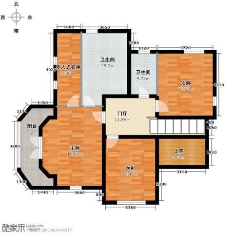 汀香别墅二期3室0厅2卫0厨375.00㎡户型图