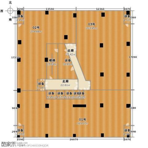 嘉联华铭座公寓1227.00㎡户型图
