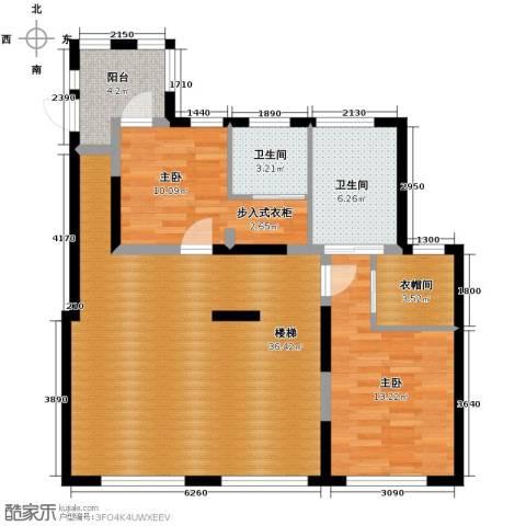 新湖武林国际公寓2室0厅2卫0厨298.00㎡户型图