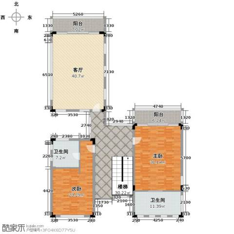 合景・汀澜海岸3室2厅3卫0厨270.00㎡户型图