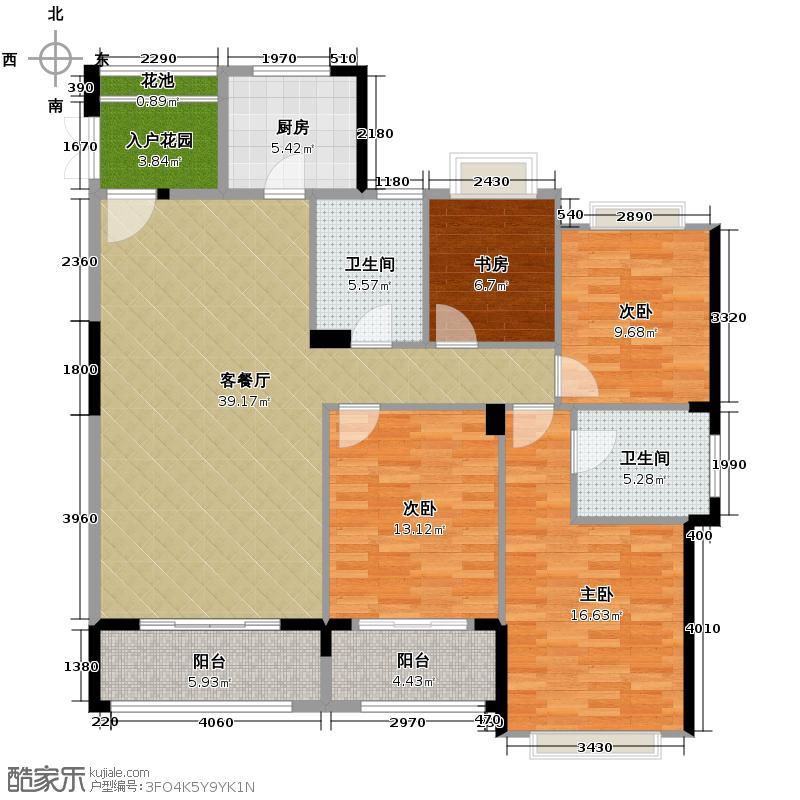 罗源湾滨海新城129.42㎡6区户型10室