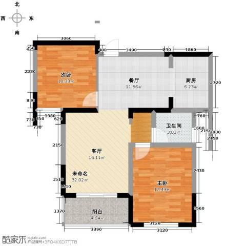 和一花园2室0厅1卫0厨85.00㎡户型图