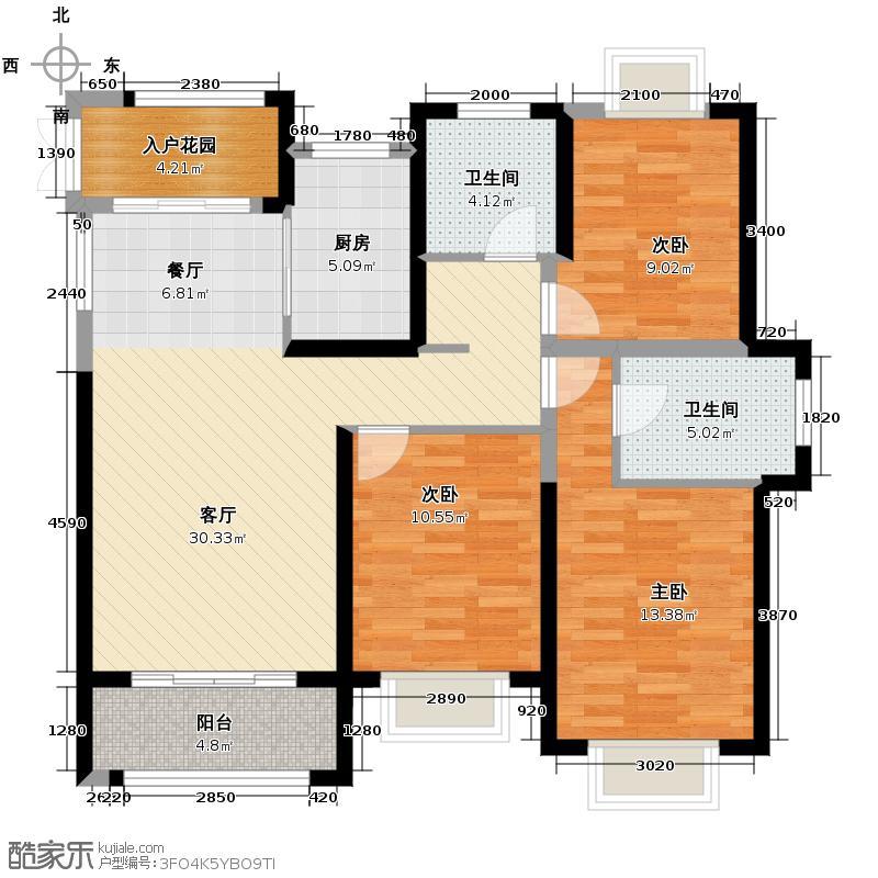 罗源湾滨海新城99.99㎡罗锦苑户型10室