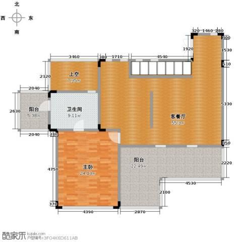 中信・香水湾3室4厅3卫0厨123.76㎡户型图
