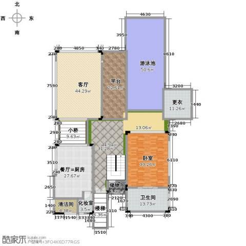 合景・汀澜海岸3室2厅3卫0厨275.13㎡户型图