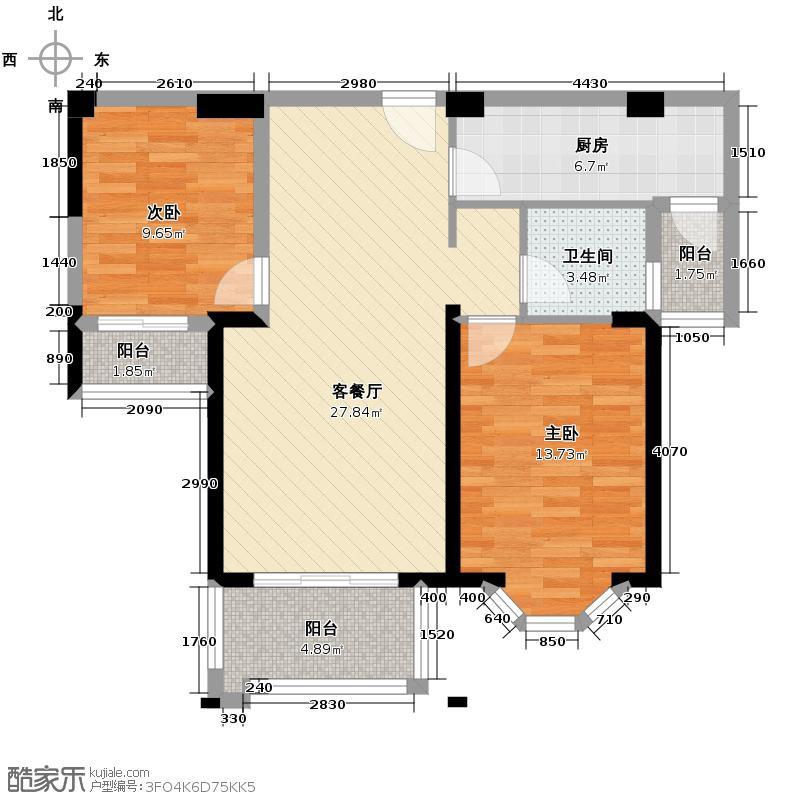 三盛托斯卡纳81.01㎡户型10室