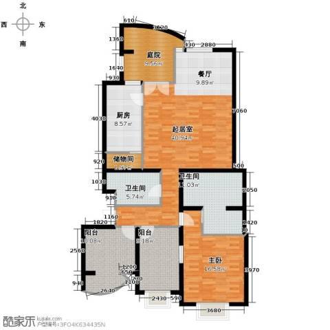 体委宿舍1室0厅2卫1厨161.00㎡户型图