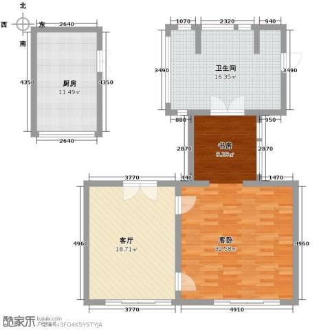 七仙瑶池1室1厅1卫0厨100.00㎡户型图