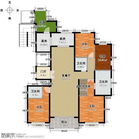 绿地・内森庄园4室2厅3卫0厨205.00㎡户型图